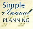 simple annual plan